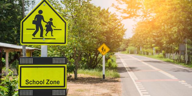school zone speeding ticket